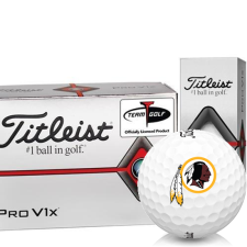 Titleist Pro V1x Half Dozen Washington Redskins Golf Balls - 6 Pack