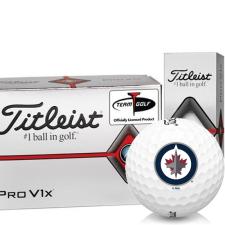 Titleist Pro V1x Half Dozen Winnipeg Jets Golf Balls - 6 Pack