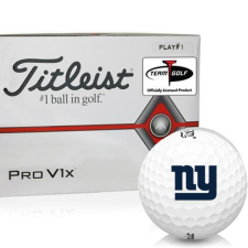 Titleist Pro V1x Player Number New York Giants Golf Balls - All #1's