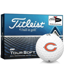 Titleist Tour Soft Chicago Bears Golf Balls