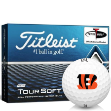 Titleist Tour Soft Cincinnati Bengals Golf Balls