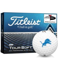 Titleist Tour Soft Detroit Lions Golf Balls