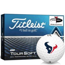 Titleist Tour Soft Houston Texans Golf Balls
