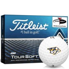 Titleist Tour Soft Nashville Predators Golf Balls