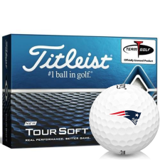 Titleist Tour Soft New England Patriots Golf Balls