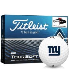 Titleist Tour Soft New York Giants Golf Balls