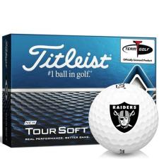 Titleist Tour Soft Oakland Raiders Golf Balls