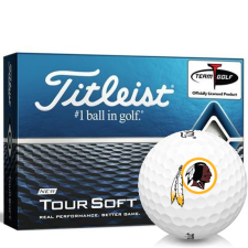 Titleist Tour Soft Washington Redskins Golf Balls