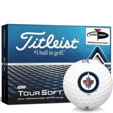 Titleist Tour Soft Winnipeg Jets Golf Balls