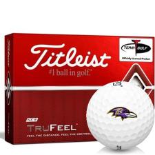 Titleist TruFeel Baltimore Ravens Golf Balls