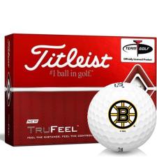 Titleist TruFeel Boston Bruins Golf Balls