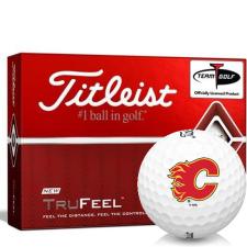 Titleist TruFeel Calgary Flames Golf Balls