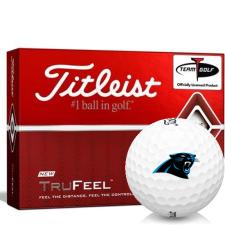 Titleist TruFeel Carolina Panthers Golf Balls
