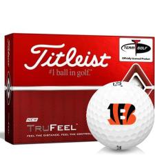 Titleist TruFeel Cincinnati Bengals Golf Balls