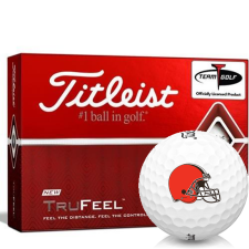 Titleist TruFeel Cleveland Browns Golf Balls