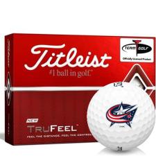 Titleist TruFeel Columbus Blue Jackets Golf Balls