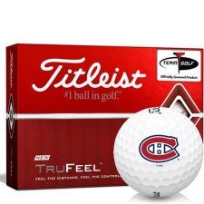 Titleist TruFeel Montreal Canadiens Golf Balls