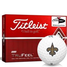 Titleist TruFeel New Orleans Saints Golf Balls
