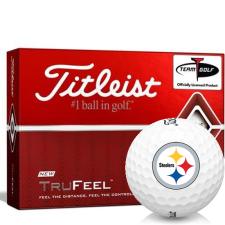 Titleist TruFeel Pittsburgh Steelers Golf Balls