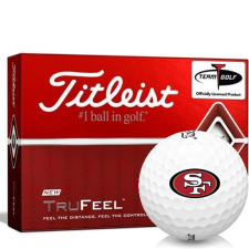 Titleist TruFeel San Francisco 49ers Golf Balls