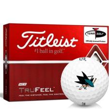 Titleist TruFeel San Jose Sharks Golf Balls