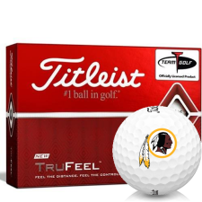 Titleist TruFeel Washington Redskins Golf Balls
