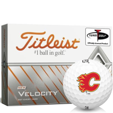 Titleist Velocity Calgary Flames Golf Balls