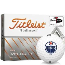 Titleist Velocity Edmonton Oilers Golf Balls