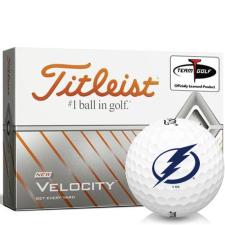 Titleist Velocity Tampa Bay Lightning Golf Balls