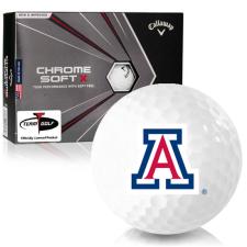 Callaway Golf Chrome Soft X Arizona Wildcats Golf Balls
