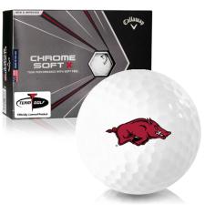 Callaway Golf Chrome Soft X Arkansas Razorbacks Golf Balls