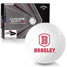 Callaway Golf Chrome Soft X Bradley Braves Golf Balls