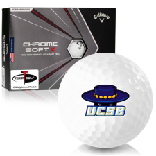 Callaway Golf Chrome Soft X Cal Santa Barbara Gauchos Golf Balls