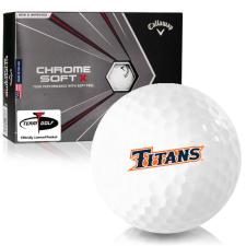 Callaway Golf Chrome Soft X Cal State Fullerton Titans Golf Balls