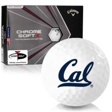 Callaway Golf Chrome Soft X California Golden Bears Golf Balls