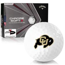 Callaway Golf Chrome Soft X Colorado Buffaloes Golf Balls