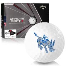 Callaway Golf Chrome Soft X Colorado School of Mines Orediggers Golf Balls