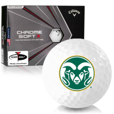 Callaway Golf Chrome Soft X Colorado State Rams Golf Balls
