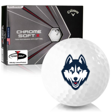 Callaway Golf Chrome Soft X UConn Huskies Golf Balls