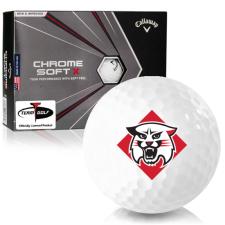 Callaway Golf Chrome Soft X Davidson Wildcats Golf Balls