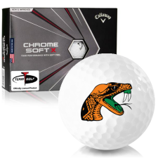 Callaway Golf Chrome Soft X Florida A&M Rattlers Golf Balls