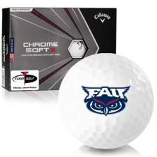Callaway Golf Chrome Soft X Florida Atlantic Owls Golf Balls
