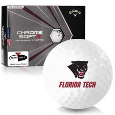 Callaway Golf Chrome Soft X Florida Tech Panthers Golf Balls