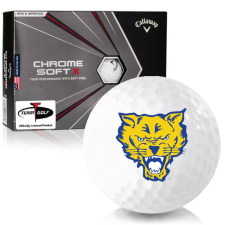 Callaway Golf Chrome Soft X Fort Valley State Wildcats Golf Balls