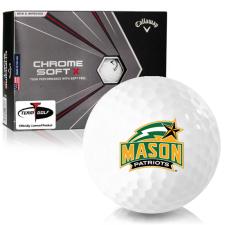 Callaway Golf Chrome Soft X George Mason Patriots Golf Balls