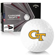 Callaway Golf Chrome Soft X Georgia Tech Golf Balls
