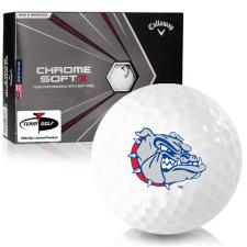 Callaway Golf Chrome Soft X Gonzaga Bulldogs Golf Balls