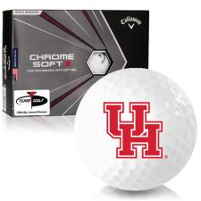 Callaway Golf Chrome Soft X Houston Cougars Golf Balls