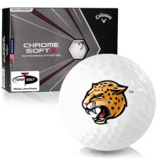 Callaway Golf Chrome Soft X IUPUI Jaguars Golf Balls