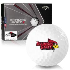 Callaway Golf Chrome Soft X Illinois State Redbirds Golf Balls